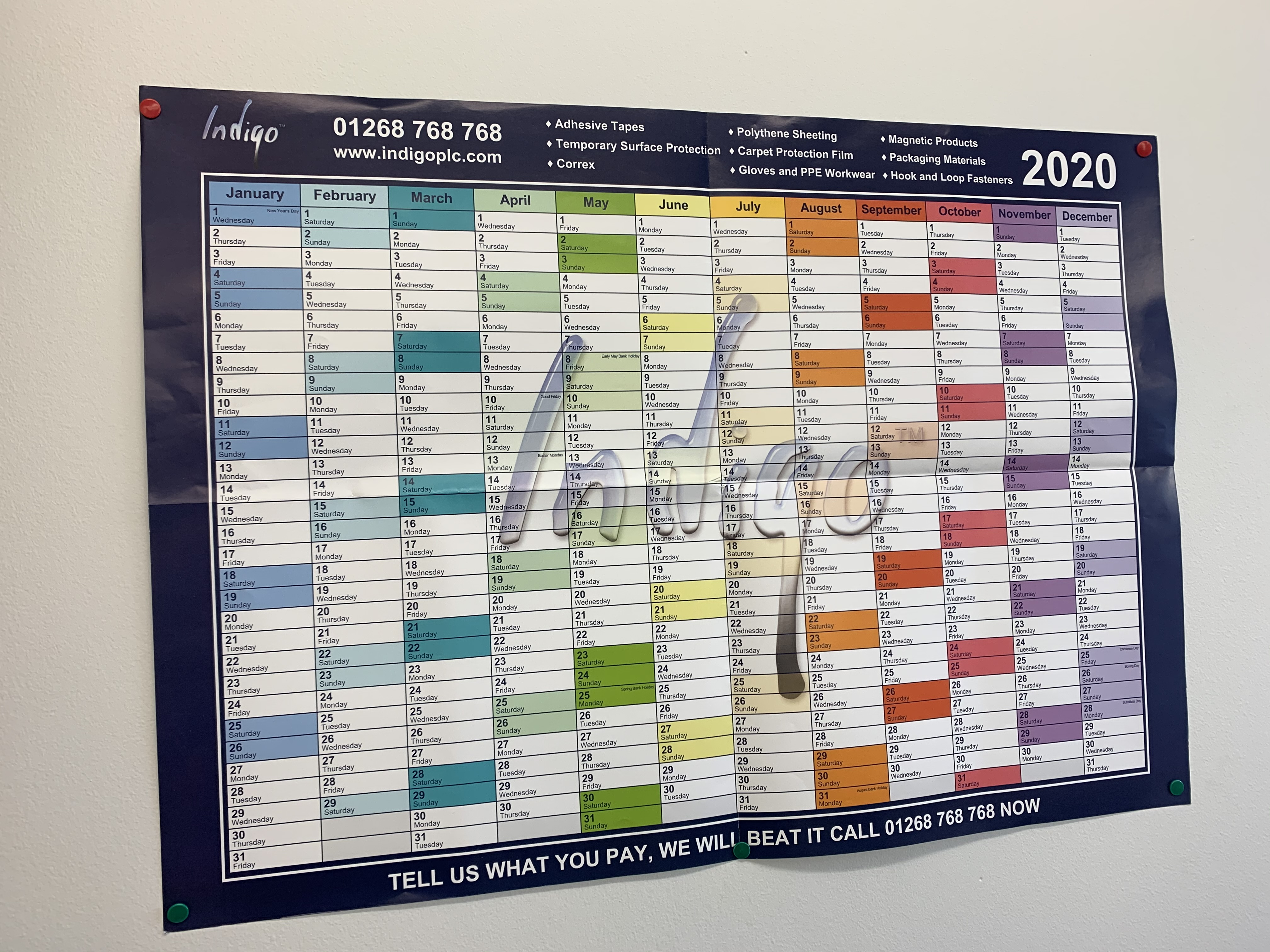 FREE Indigo Planner for 2020