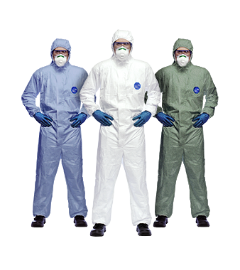 Dupont Tyvek Coveralls / Suits