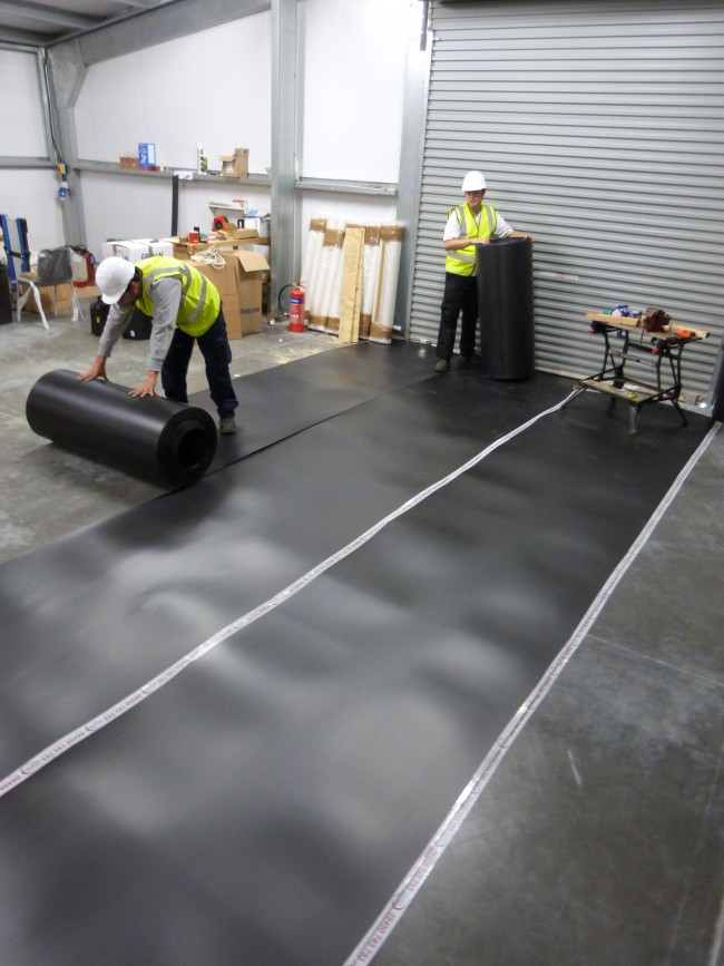 Corrugated Plastic Roll (corex)