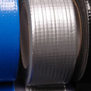 "Cloth Tape Adhesive Silver 2"" x 45m"