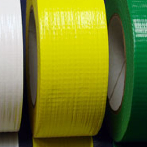 "Cloth Tape Adhesive Yellow 4"" x 45m"