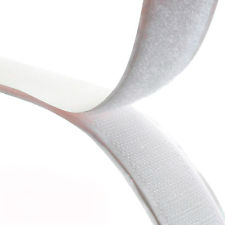 Rip 'n' Grip Tape HOOK White High Tack Rubber Adhesive 25mm x 25m