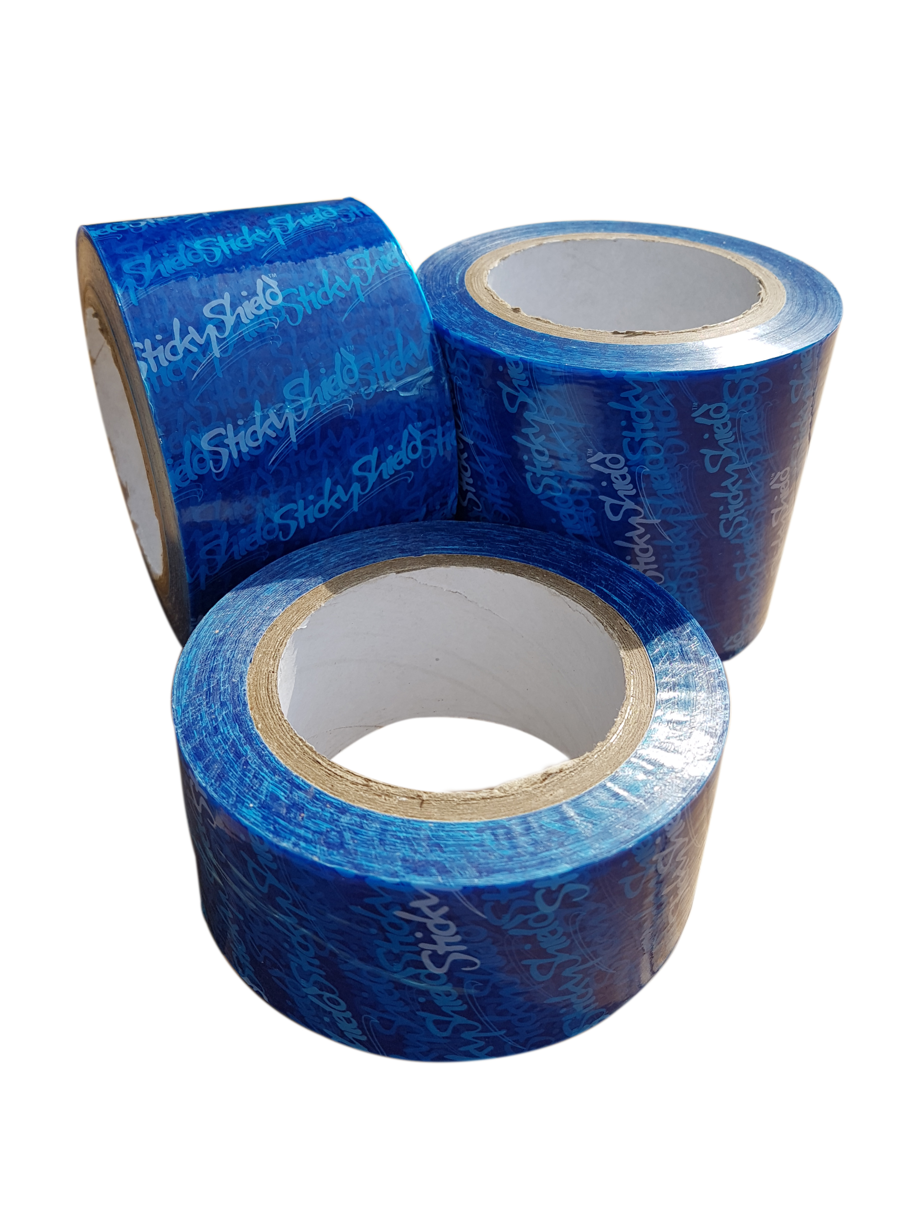 Sticky Shield® Peelable Low Tack Surface Protection Tape Blue 75mm x 100m