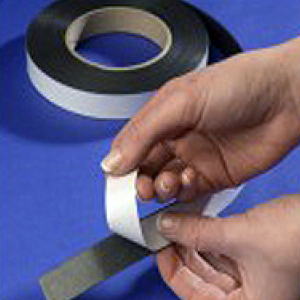 "Flexible Magnetic Magnet Tape Strip Roll Adhesive 12.5mm x 1.5mm x 30m Type ""A"""