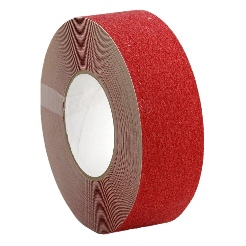 Anti Slip Non Skid Tape Self Adhesive Red 25mm x 18m