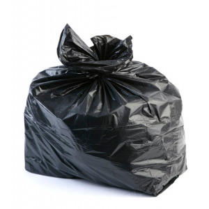 "Refuse Rubbish Waste Sacks Black Bin Bags18"" x 29"" x 39"" 140g Extra Deep"