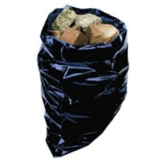 "Rubble Builders Aggregate Sacks / Bags 20"" X 30"" Heavy Duty Black"