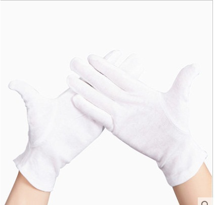 COTTON GLOVES PURE WHITE MENS (PRINTERS ETC)