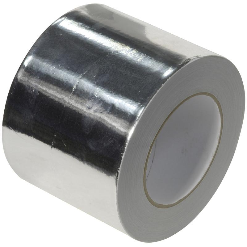 Heat Resistant Aluminium Foil Tape 50mm x 45m