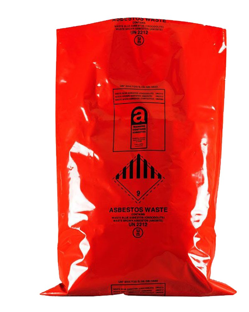 "Asbestos Removal Sack / Bag 600MM X 900MM (24"" x 36"")"