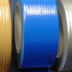 "Cloth Tape Adhesive Blue 1"" x 45m"