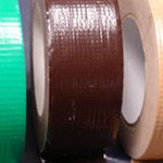 "Cloth Tape Adhesive Dark Brown 2"" x 45m"
