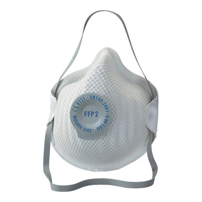 Valved Face Mask Respirator Flu Cold  FFP2 (5 Masks)