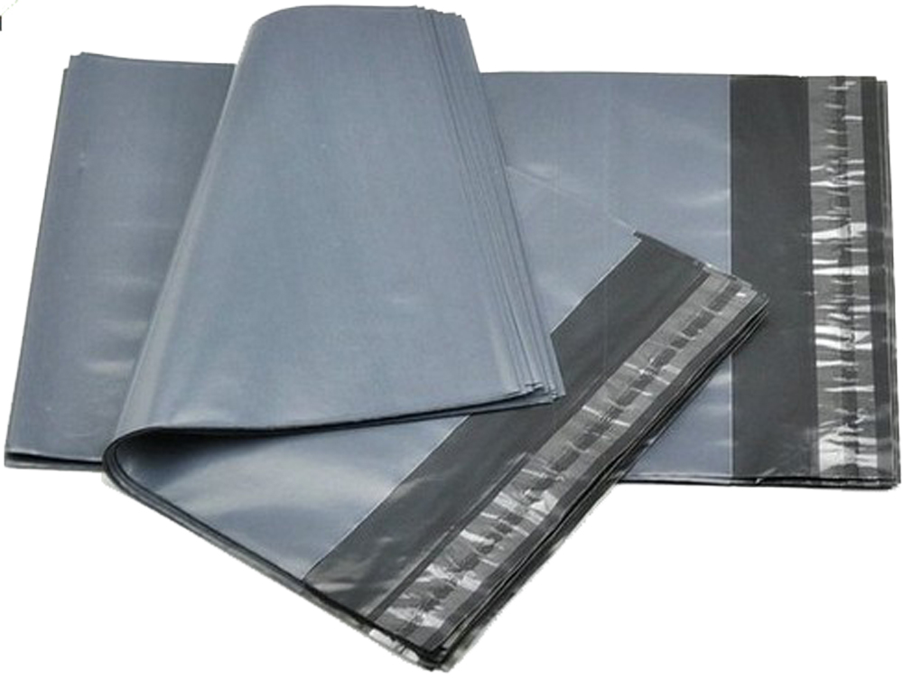Grey Polythene Mailers 600mm x 900mm