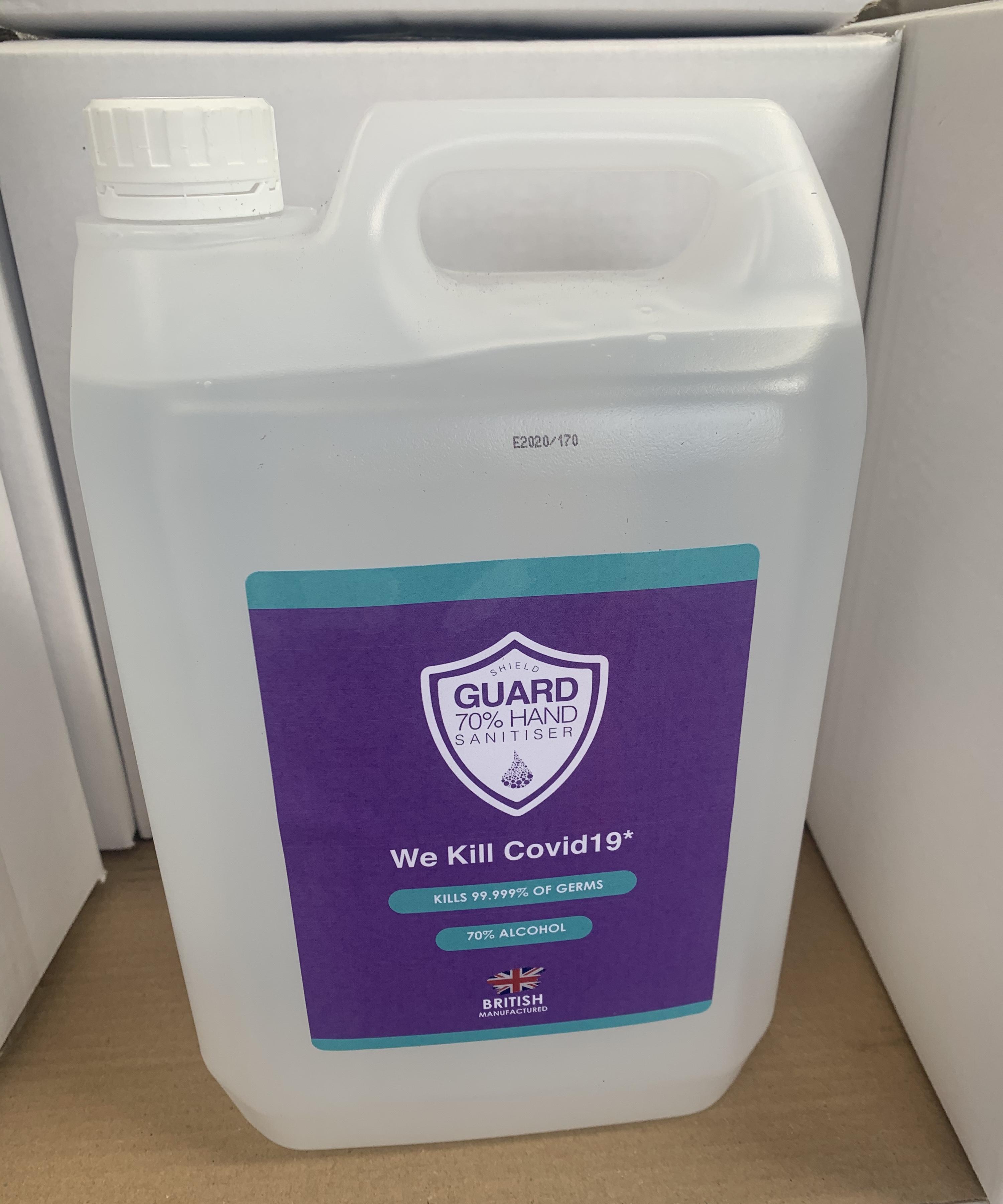 Hand Sanitizer GEL 5l (litre) Antibacterial Sanitiser