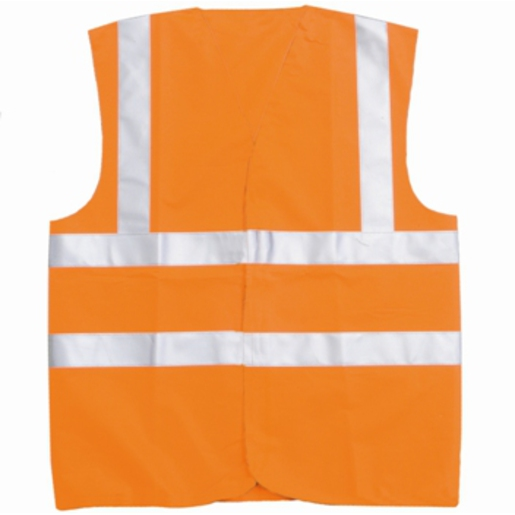 Hi-Vis Waistcoat Orange XXL