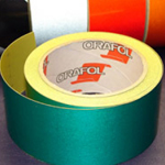 Reflective Tape Self Adhesive Green 25mm x 10m