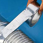 Aluminium Foil Tape Adhesive 72mm x 45m