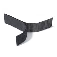 Rip 'n' Grip Tape LOOP Black Sew-on 100mm x 25m
