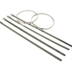 Stainless Steel Cable Ties (Pack of 100) 4.6mm x 360mm